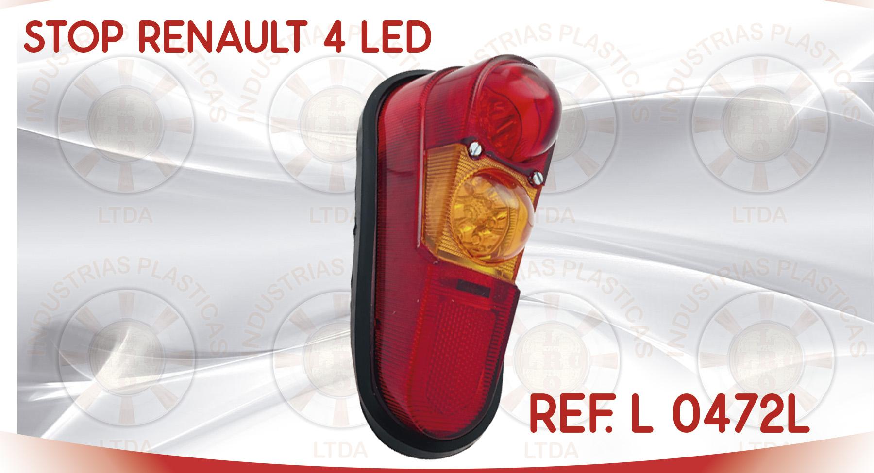 L 0472L STOP RENAULT 4 LED
