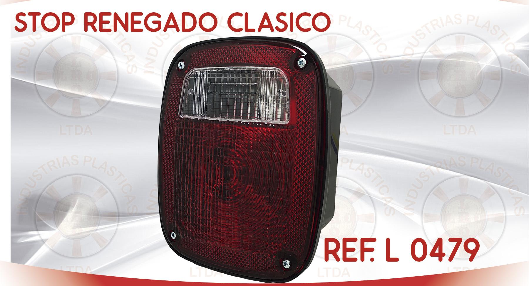 L 0479 STOP RENEGADO CLASICO