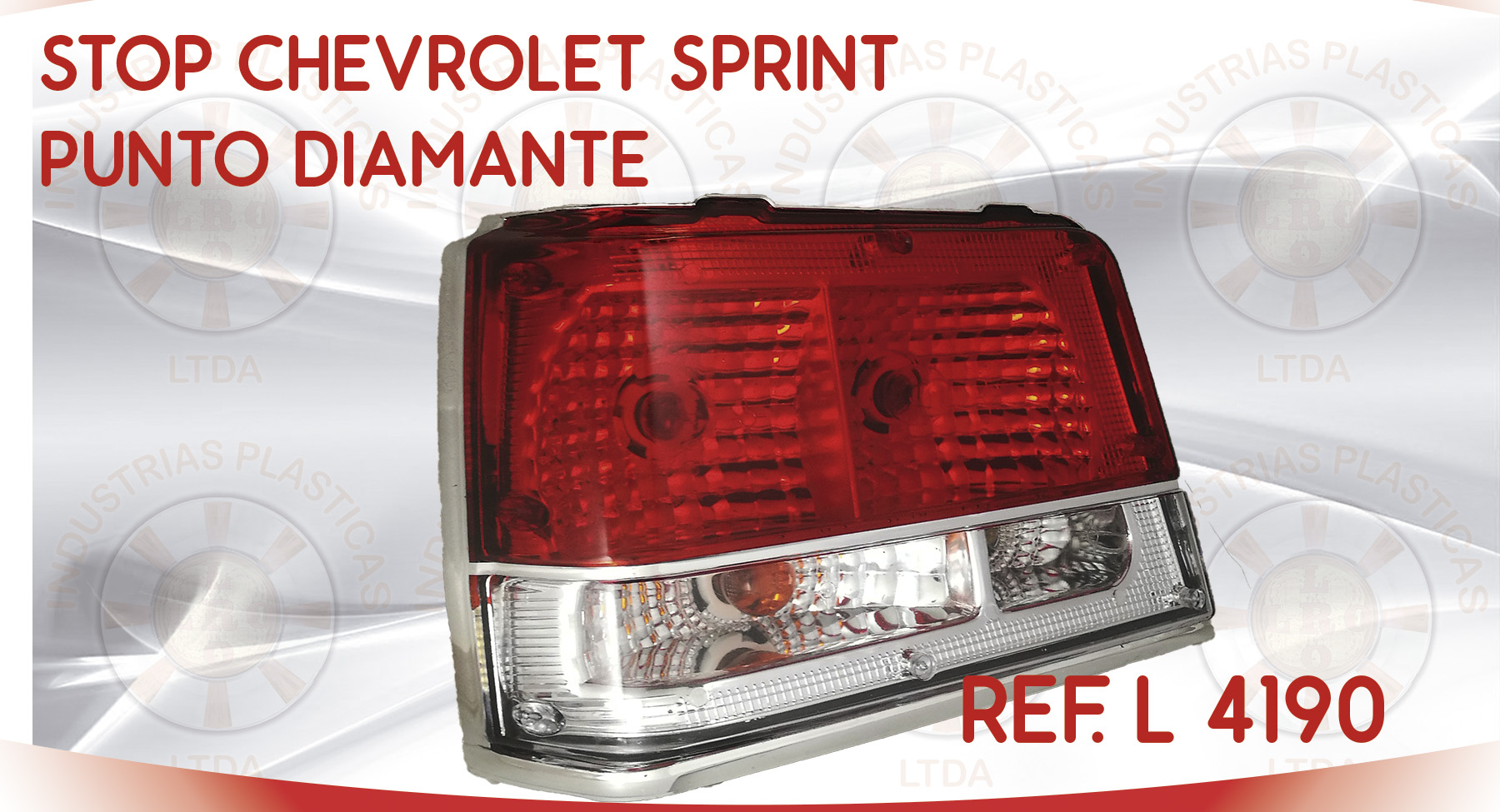 L 4190 STOP CHEVROLET SPRINT PUNTO DIAMANTE