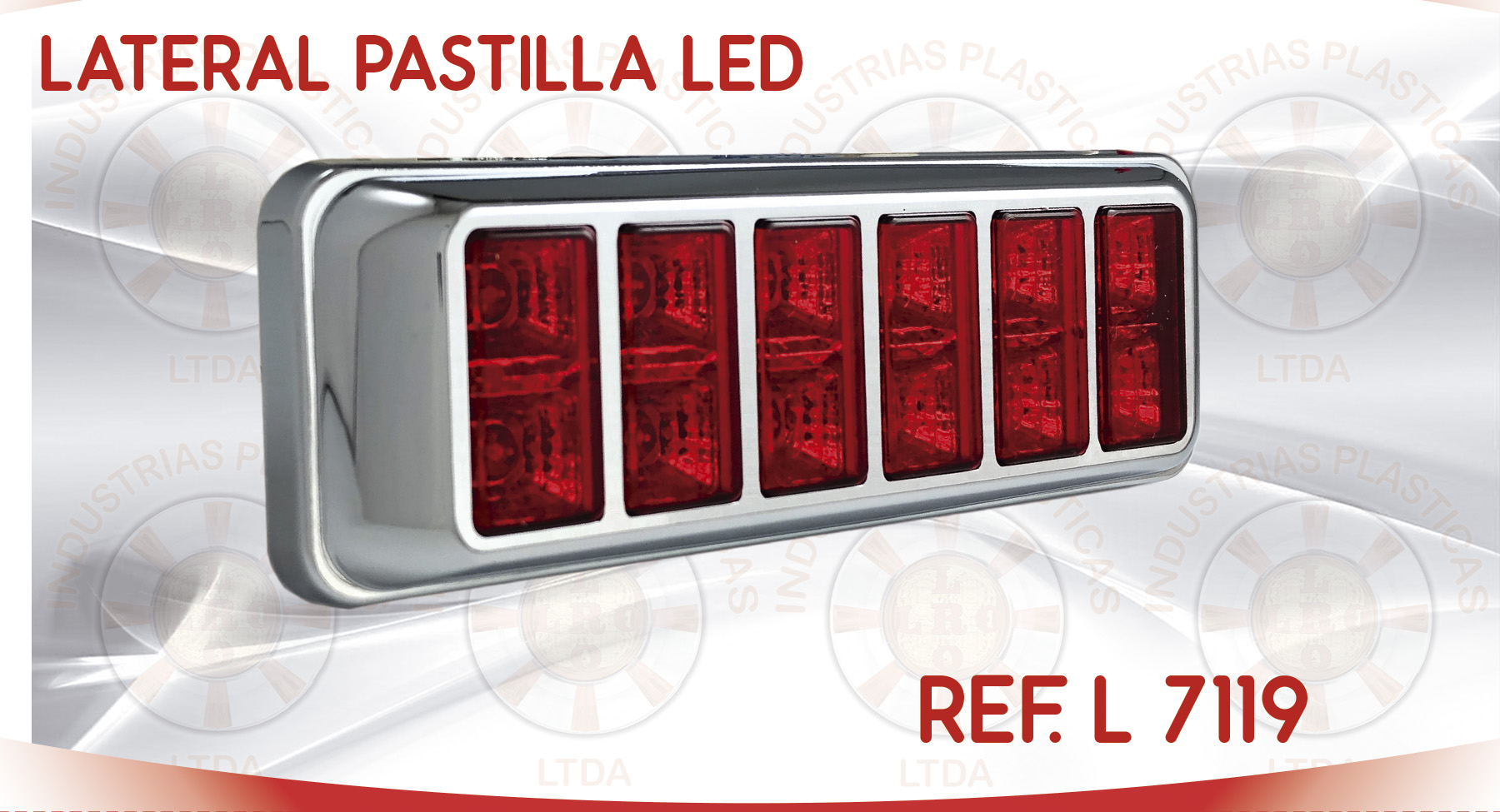 L 7119 LATERAL PASTILLA LED