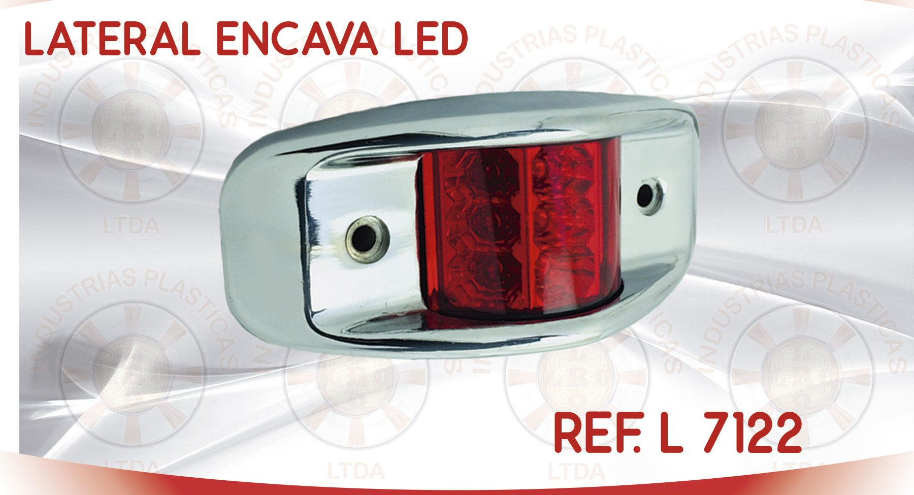 L 7122 LATERAL ENCAVA LED