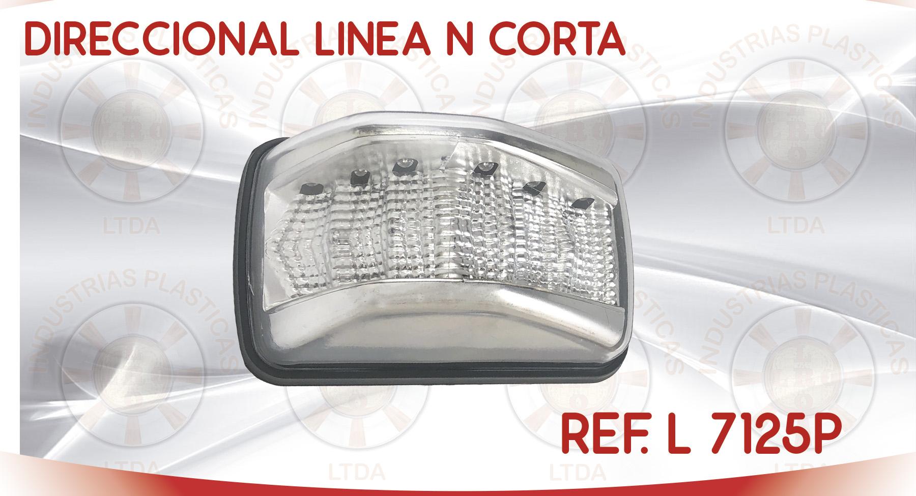 L 7125P DIRECCIONAL LINEA N CORTA