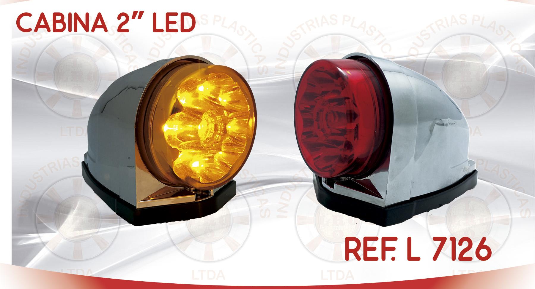 L 7126 CABINA 2 PULGADAS LED
