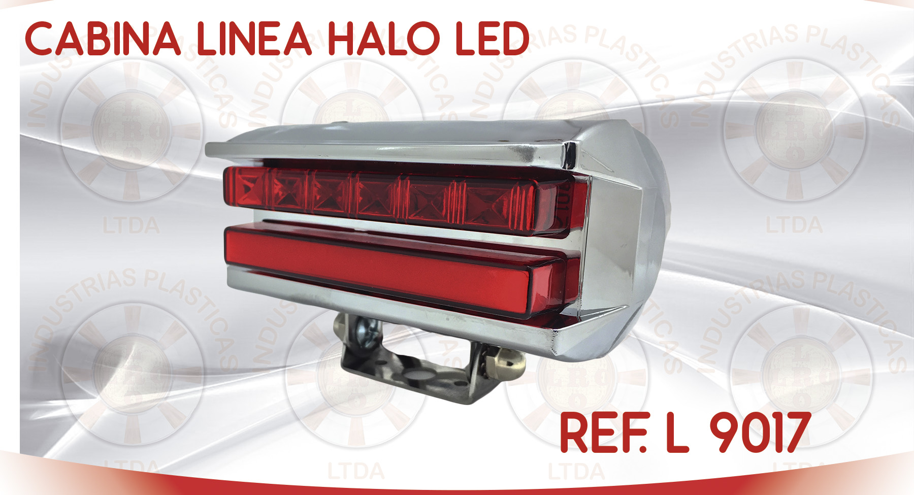 L 9017 CABINA LINEA HALO LED