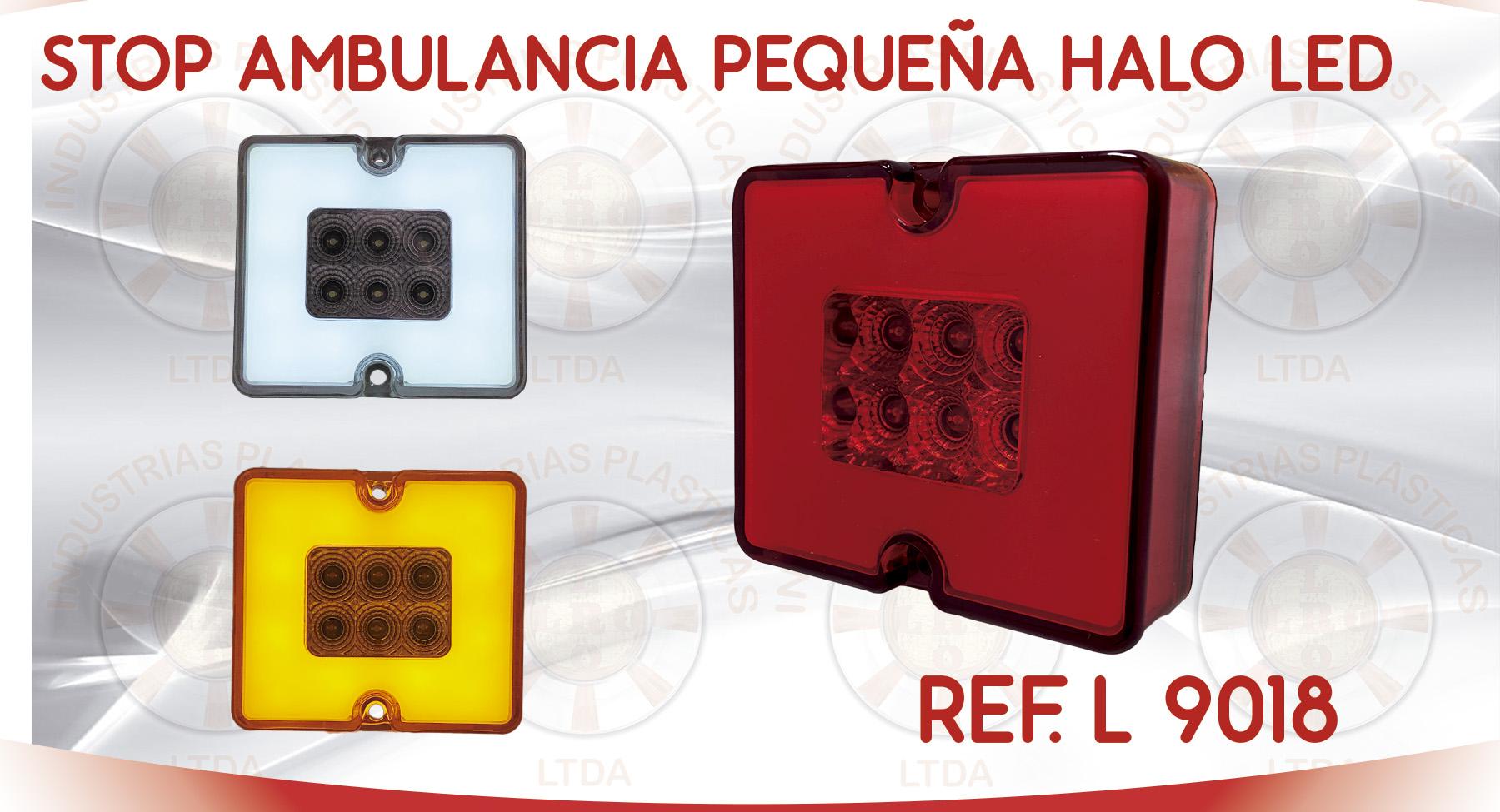L 9018 STOP AMBULANCIA PEQUEÑA HALO LED