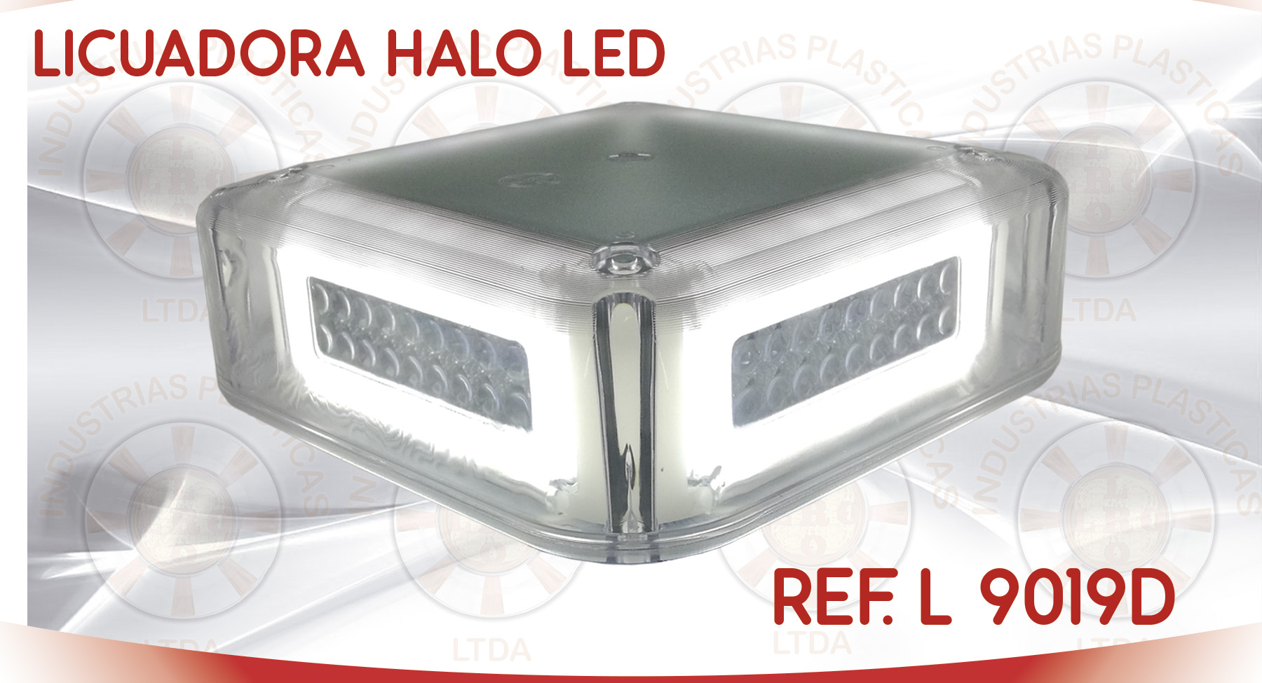 L 9019D LICUADORA HALO LED